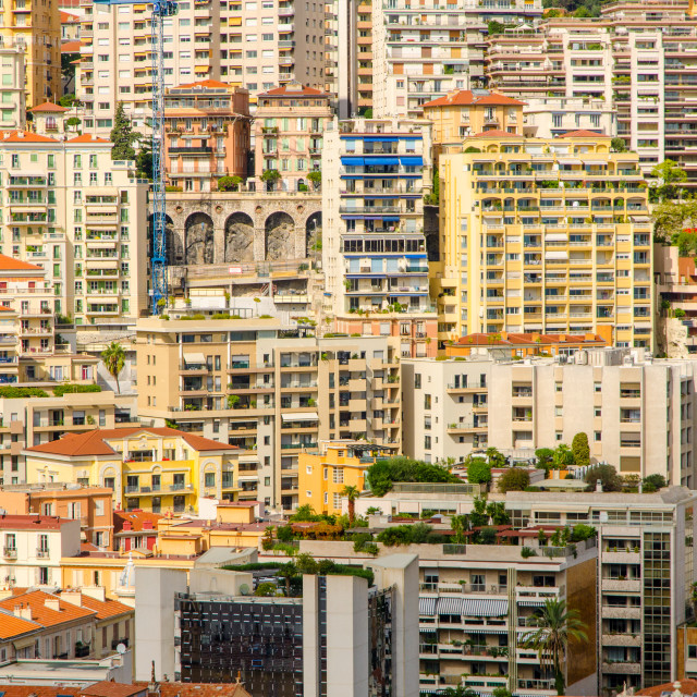 """Buildings Of Monaco"" stock image"