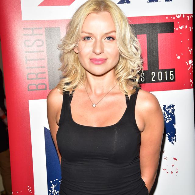 """The British LGBT Awards 2015 held at the Landmark Hotel in London"" stock image"
