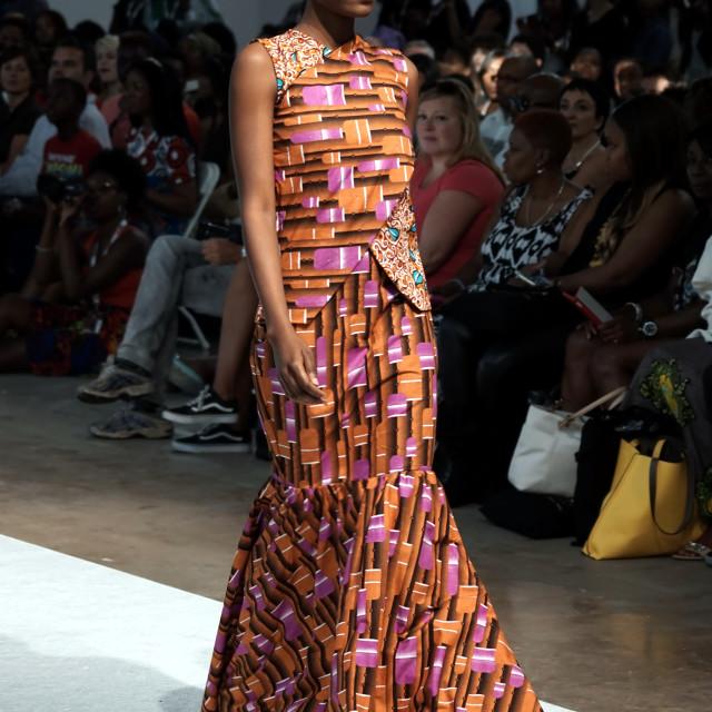 """Africa Fashion Week London 2015"" stock image"
