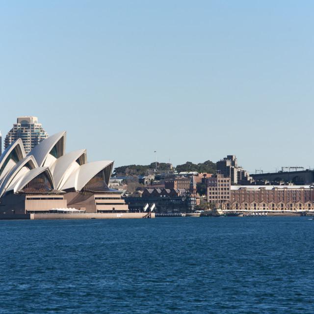 """Sydney Opera House in Australia"" stock image"