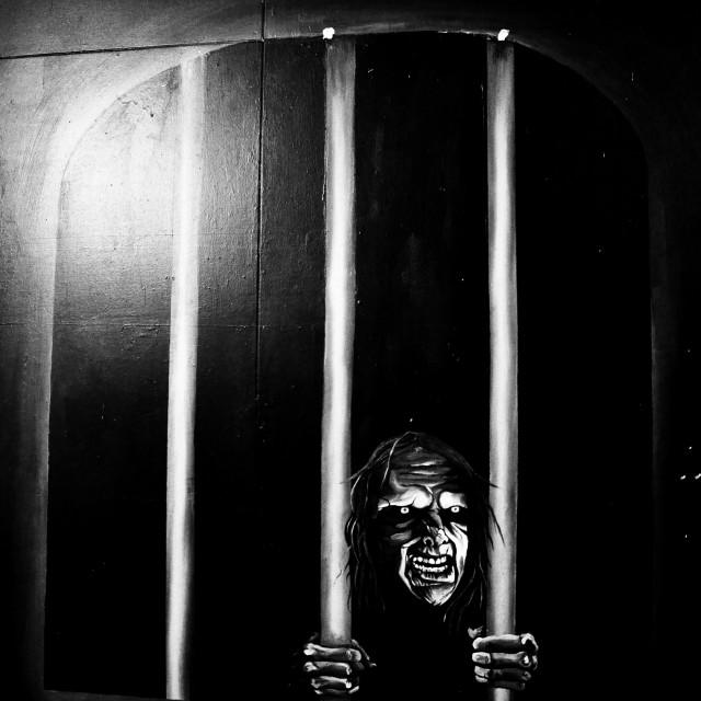 """Prison Art"" stock image"