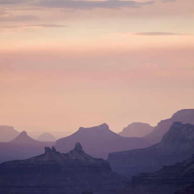 """""""Dozing Canyon"""" stock image"""