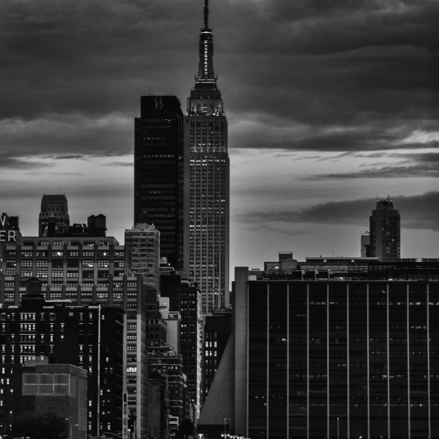 """""""The Empire State Building"""" stock image"""