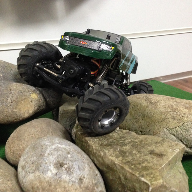 """RC Mini Rock Crawler"" stock image"