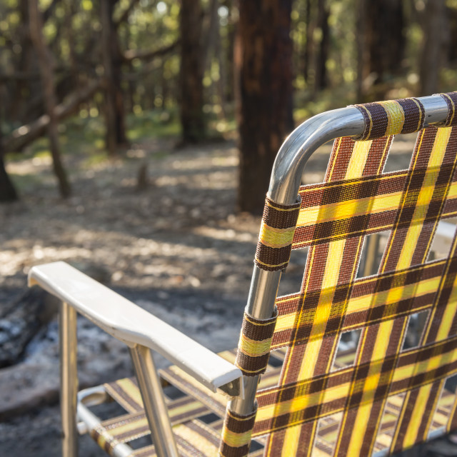 """""""Camping Chair"""" stock image"""