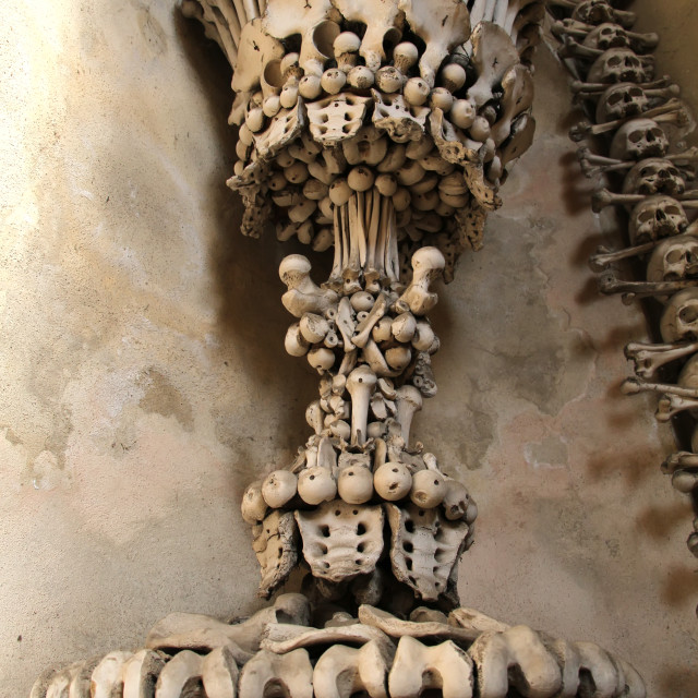 """""""Sedlec Ossuary"""" stock image"""