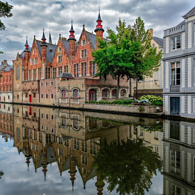 """""""Bruges Belgium"""" stock image"""