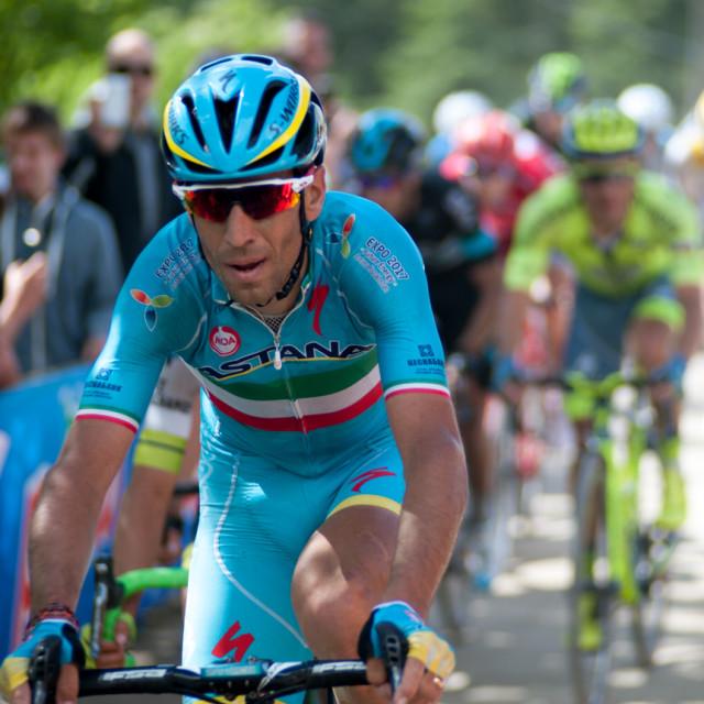 """""""Vincenzo Nibali"""" stock image"""