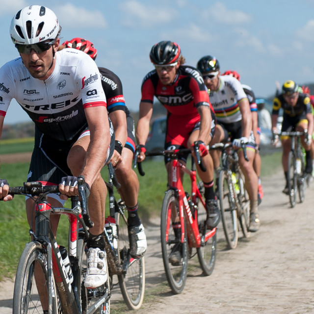 """Paris Roubaix 2016"" stock image"