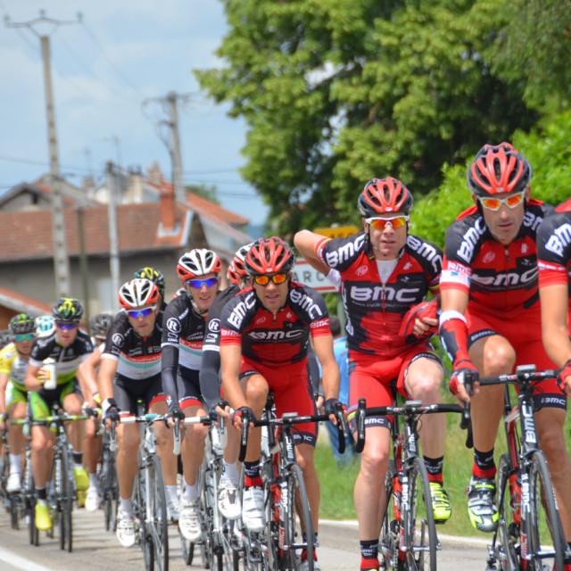 """""""Critérium du Dauphiné 2014"""" stock image"""