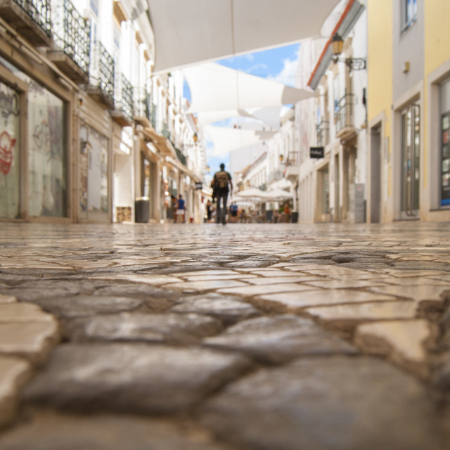 """Ground-level in Faro"" stock image"