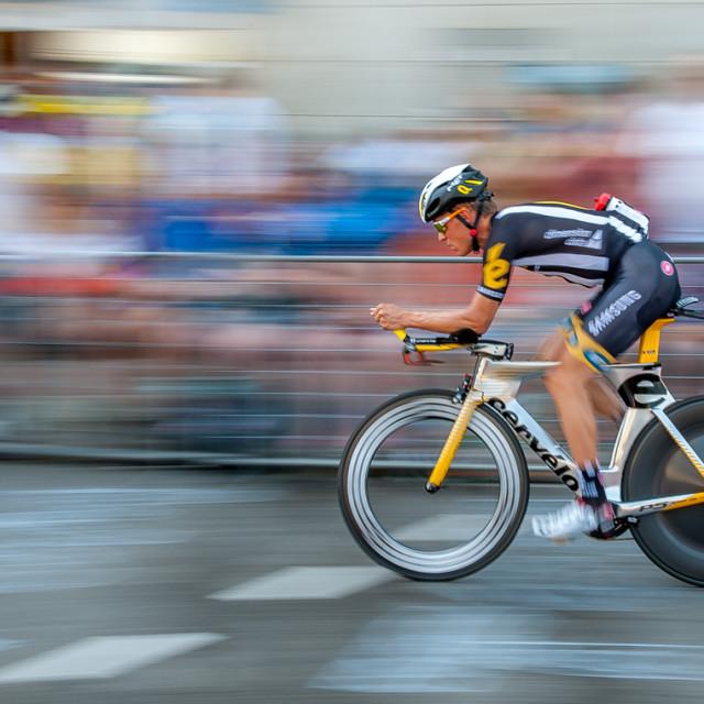 """""""Tour de France Prologue 2015"""" stock image"""