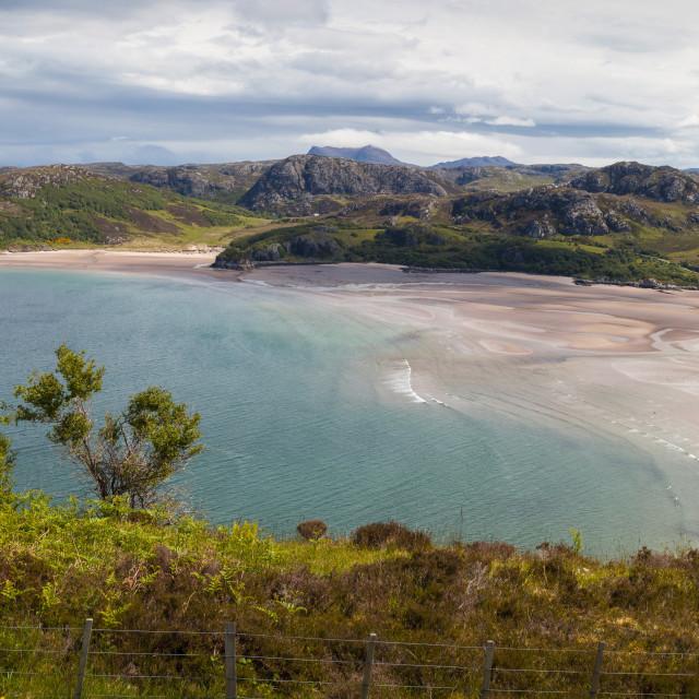 """Northwest Coast Beach Pano"" stock image"