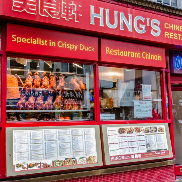 """""""Chinese Restaurant"""" stock image"""