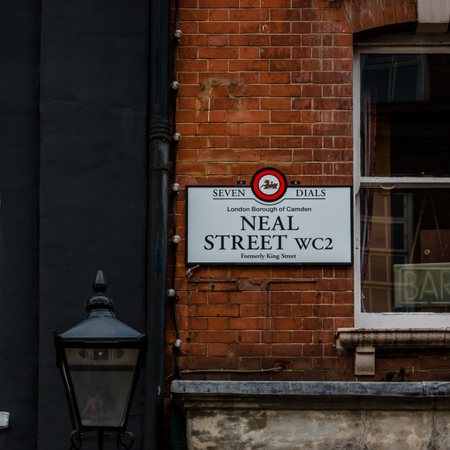 """London Street Sign"" stock image"