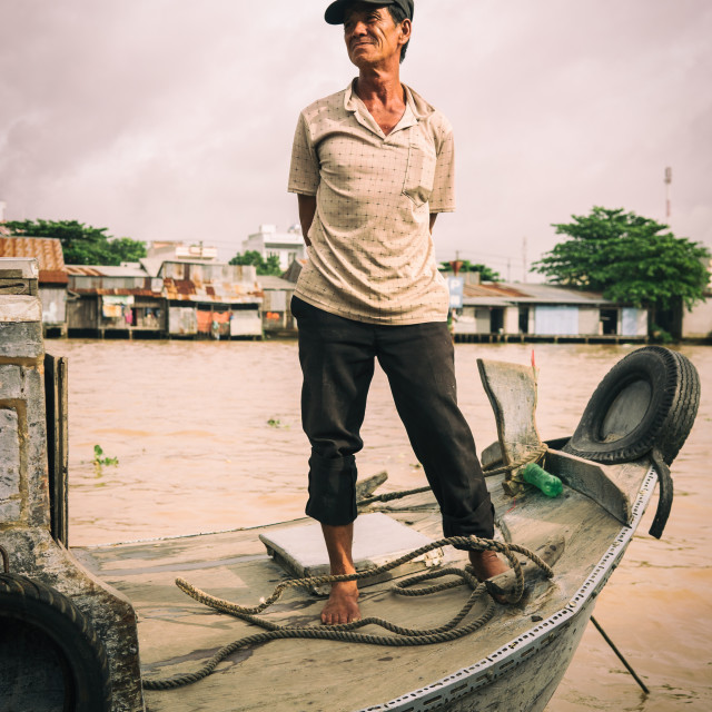 """Floating market hero."" stock image"