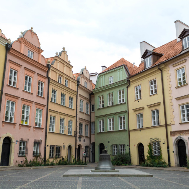 """""""Old Town Warsaw"""" stock image"""