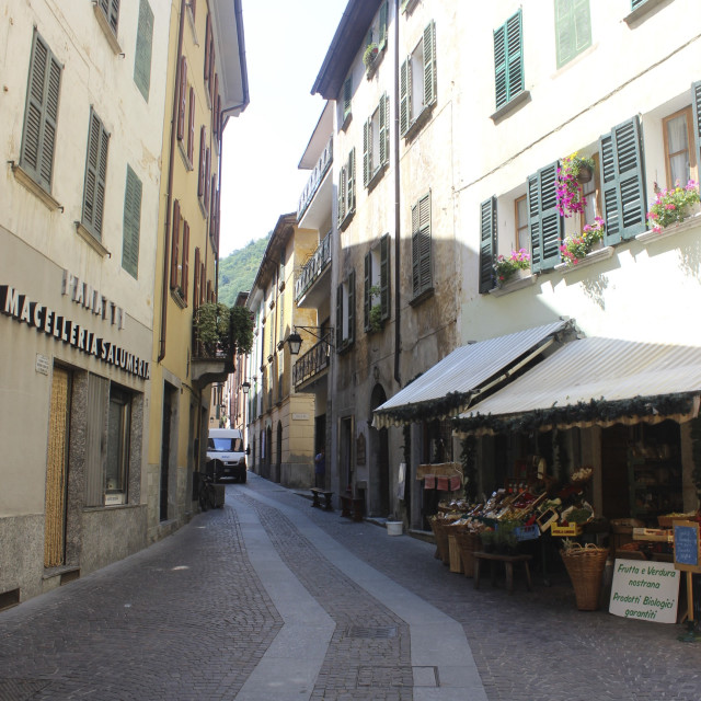 """Italian alley"" stock image"