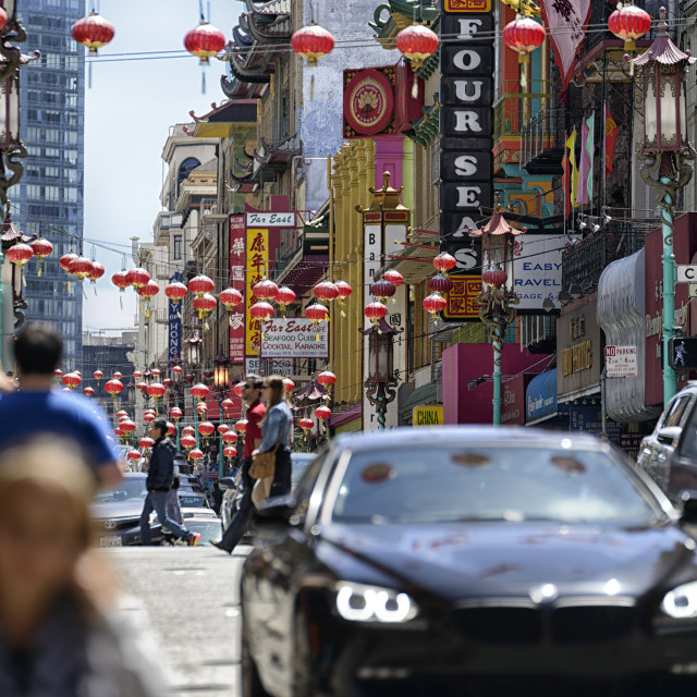 """Chinatown in San Francisco"" stock image"