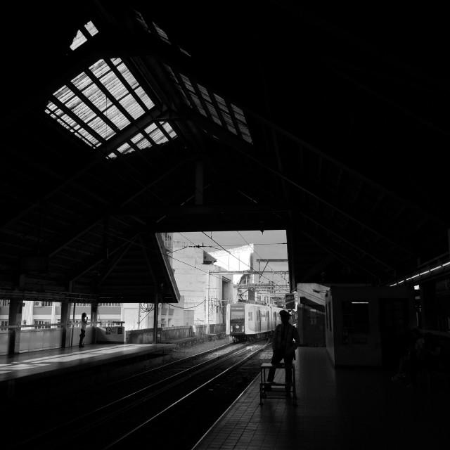 """""""Monumento Station"""" stock image"""