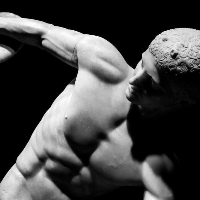 """Discus Thrower"" stock image"