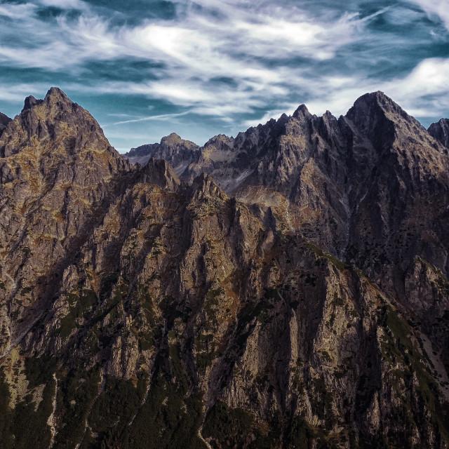 """""""High Tatras Slovakia"""" stock image"""
