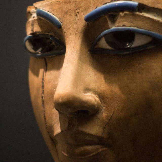 """The mask of pharaoh"" stock image"