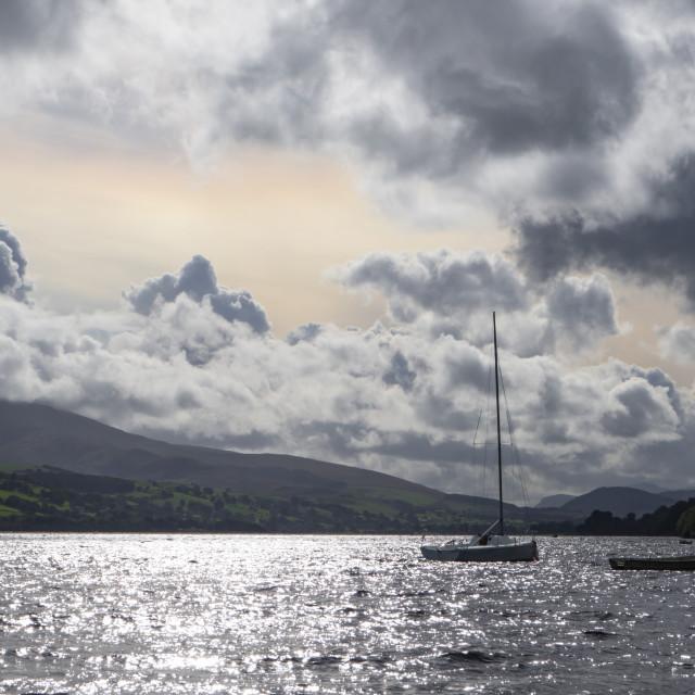 """Bala Lake - Llyn Tegid"" stock image"