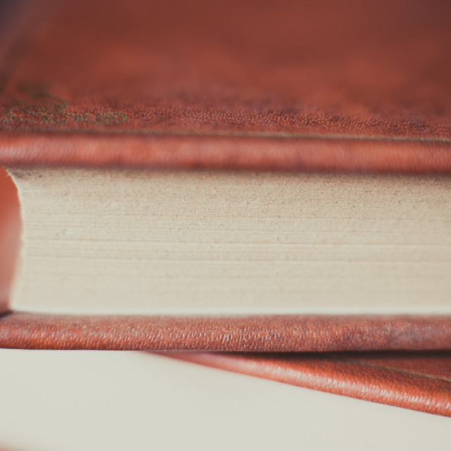 """Antique book"" stock image"