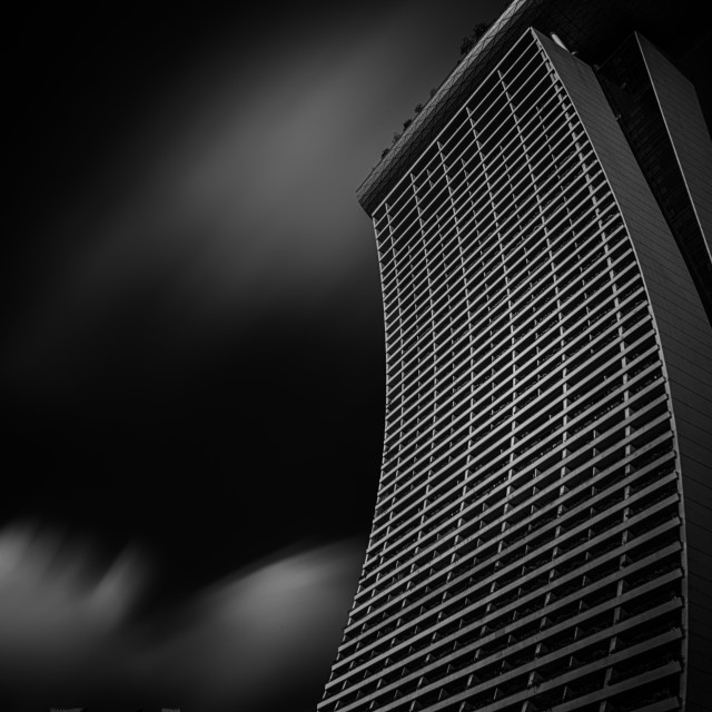 """Marina Bay Sands - Study 1"" stock image"