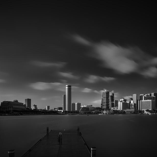 """Singapore Cityscape - Study 5"" stock image"