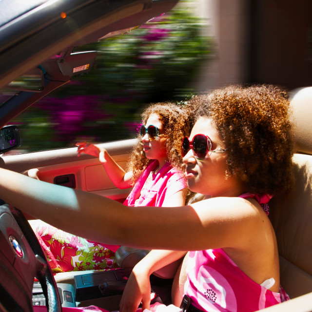 """Not Thelma and not Louise"" stock image"
