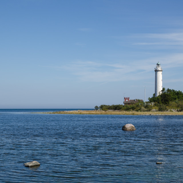"""""""Lighthouse in the Baltic Sea"""" stock image"""