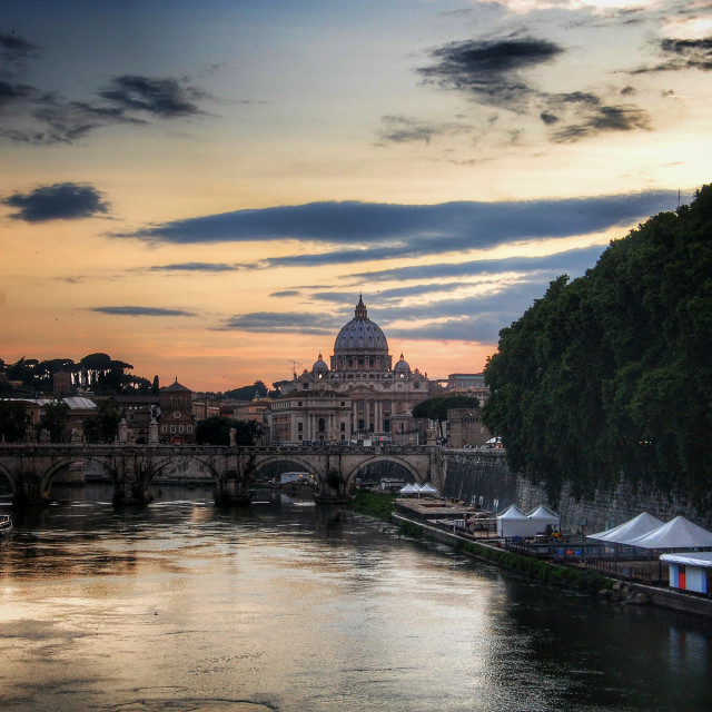"""St Peter Basilica"" stock image"
