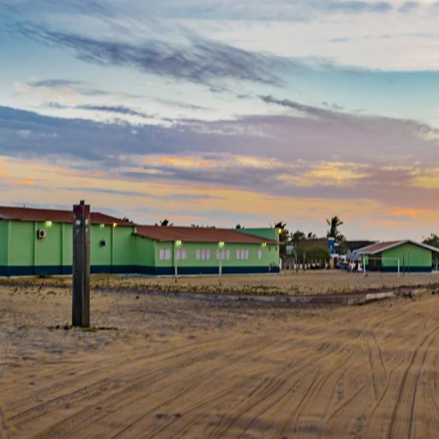 """""""Jericoacoara Town at Sunset Time"""" stock image"""