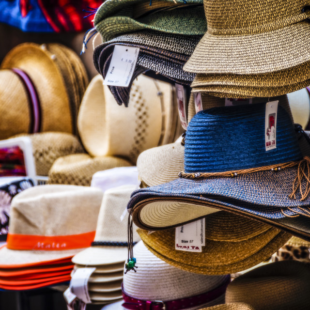 """Hats, many hats"" stock image"