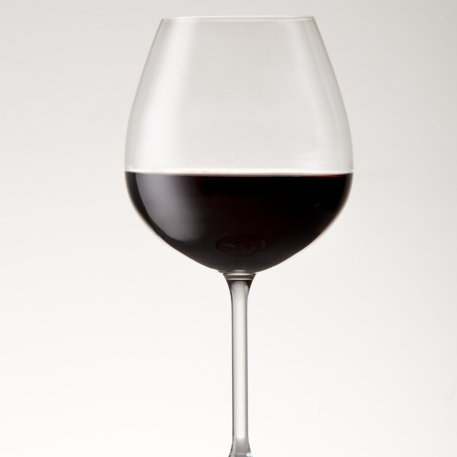 """Bordeaux Glass"" stock image"