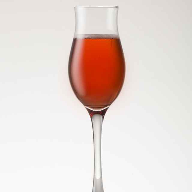 """Pink Sparkling wine"" stock image"