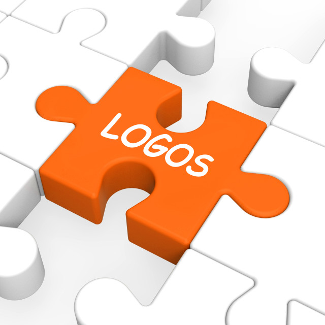 """Logos Shows Symbols Illustrations Emblems And Logo"" stock image"
