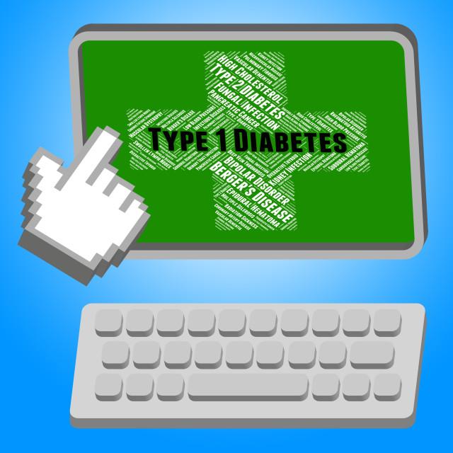 """""""Diabetes Illness Indicates Urine Glucose And Affliction"""" stock image"""
