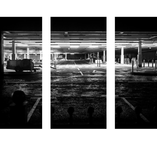 """Car Park"" stock image"