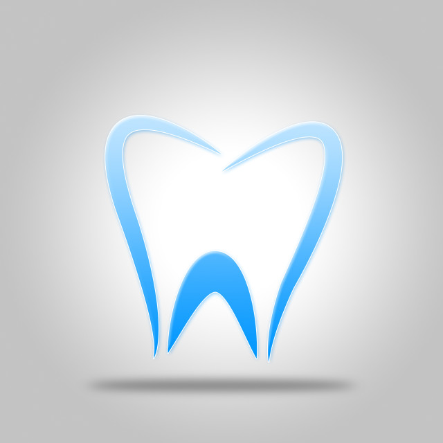 """Tooth Icon Shows Dentist Icons And Dentistry"" stock image"