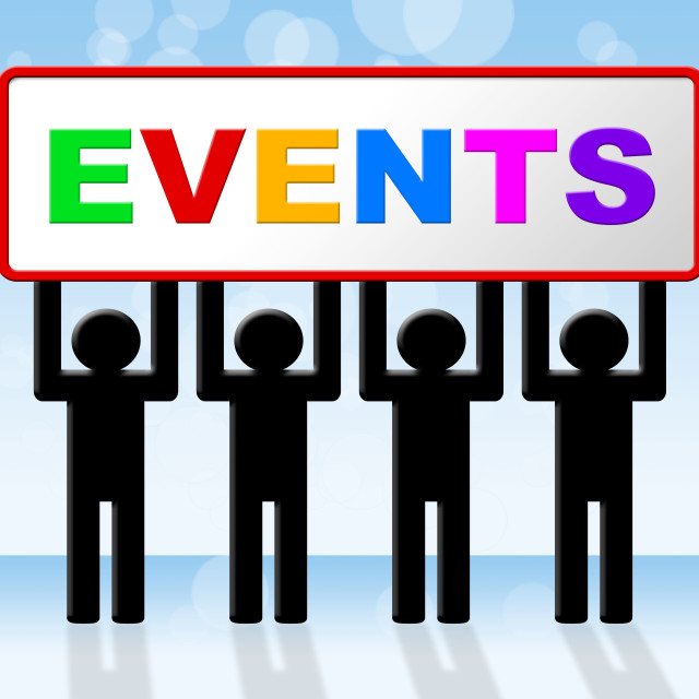 """Event Events Represents Function Affair And Affairs"" stock image"