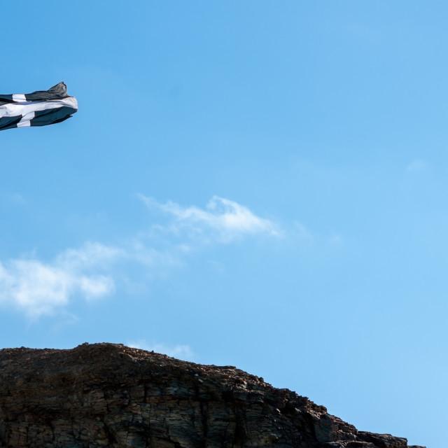 """Cornish flag"" stock image"