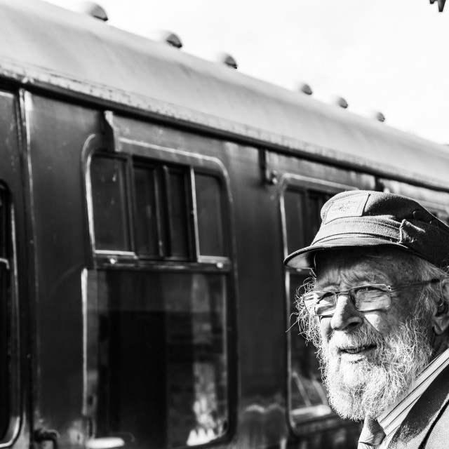 """""""The Stationmaster 2"""" stock image"""