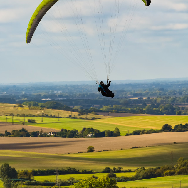 """""""Paragliding"""" stock image"""