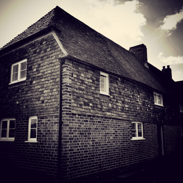 """""""Old cottage"""" stock image"""
