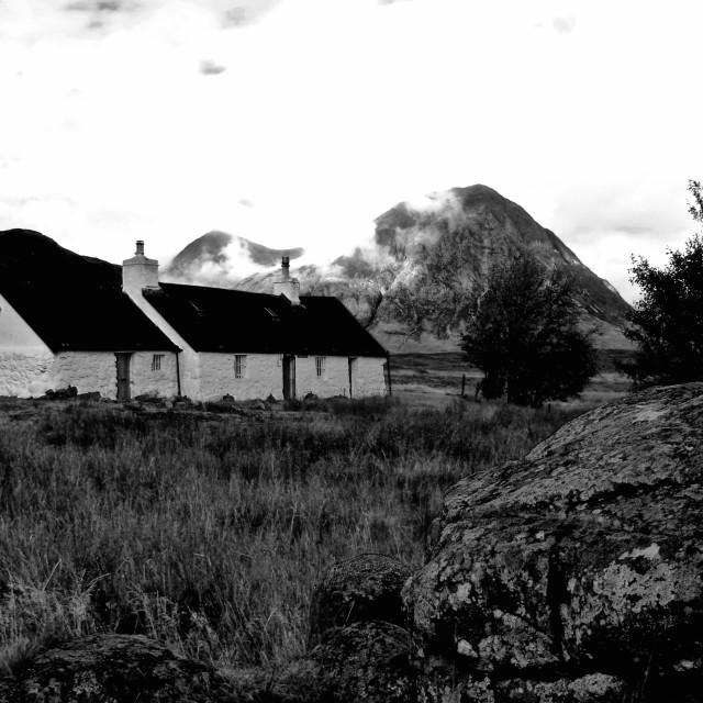 """""""Blackrock Cottage"""" stock image"""