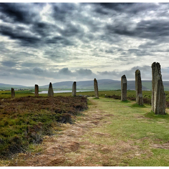 """Ring of Brodgar"" stock image"