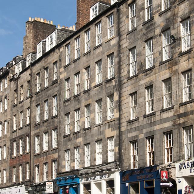 """Royal Mile, Edinburgh, Scotland"" stock image"